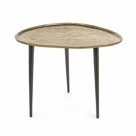 Homemotion Design Sofabord med aluminiumsplade - Yamila
