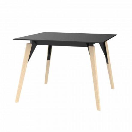 Sofabord i træ og Hpl forskellige farver 2 størrelser - Faz Wood af Vondom