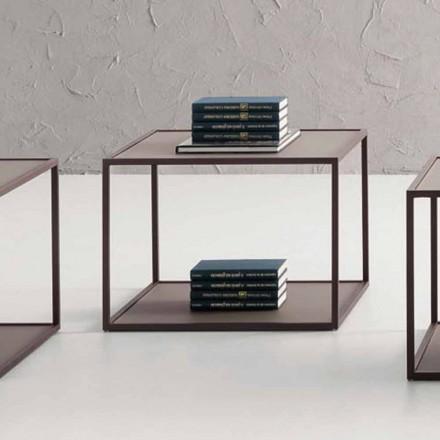 Metal sofabord med krystalplade Fremstillet i Italien - Fermio
