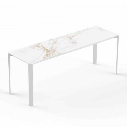 Moderne indendørs eller udendørs sofabord i aluminium - Tablet fra Vondom