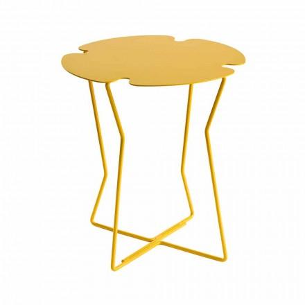 Moderne design farvet metal udendørs sofabord - Kathrin