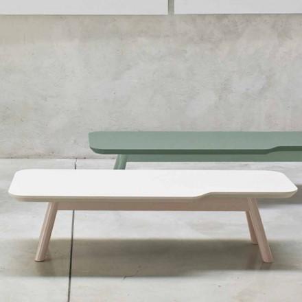 Dyrebart sofabord i massivt asketræ fremstillet i Italien - Ulm