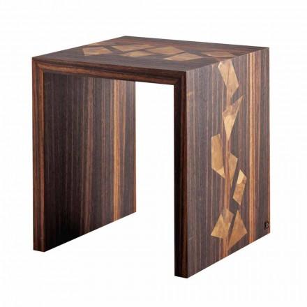 Grilli Zarafa ebony træ design sofabord lavet i Italien