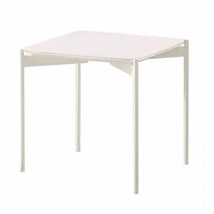 Modernt design keramisk og metal firkantet sofabord - porcupine