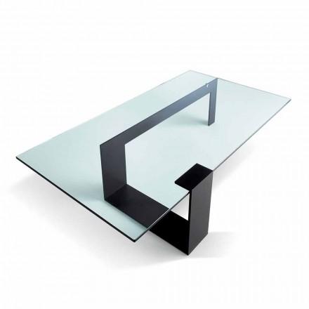 Moderne design Extralight glas sofabord fremstillet i Italien - Scoby