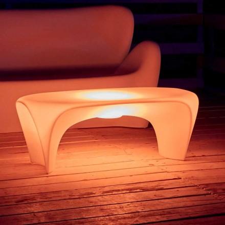 RGB Lysende sofabord til udendørs eller indendørs design i plast - lilje fra Myyour