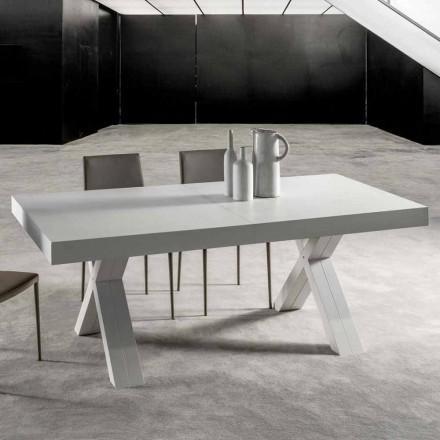 Udvideligt bord med top i lamineret træ - Atessa