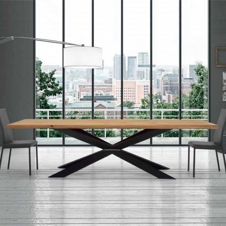Udvideligt bord op til 14 siddepladser i venereret bord fremstillet i Italien - Grotta
