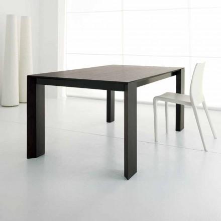 Udtrækkeligt bord Op til 245 cm i Wengè Oak Wood fra Design - Ipanemo