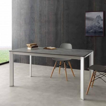 Udstrækkelige bord op til 3 meter i aluminium og laminat Hpl Urbino