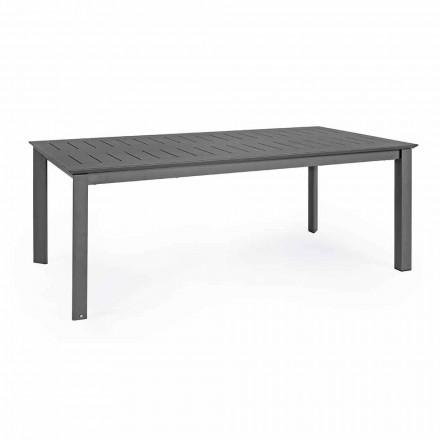 Udvideligt udendørs bord i Homemotion af moderne design i aluminium - Casper