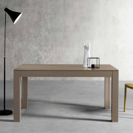 Moderne udvidelig asketræbord lavet i Italien af Leffe
