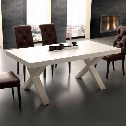 Udtrækkeligt bord Moderne melamin og MDF Denver