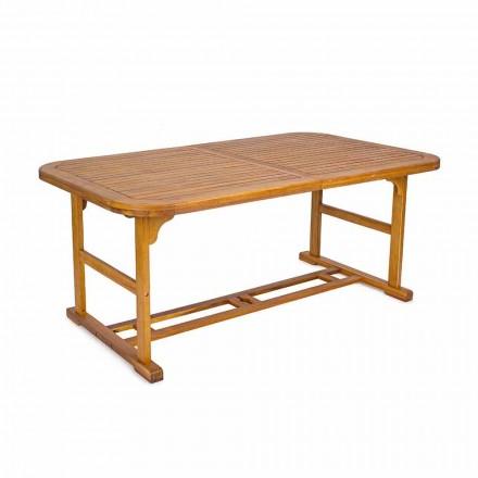 Udvideligt bord Op til 240 cm i haven træ, af design - Roxen