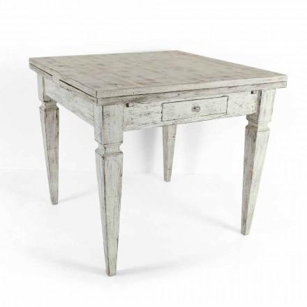 Udvideligt håndværksbord Op til 170 cm i træ fremstillet i Italien - Marseille