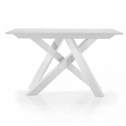 Udvidelig bordkonsol op til 325 cm i Melamine Fremstillet i Italien - Settimmio