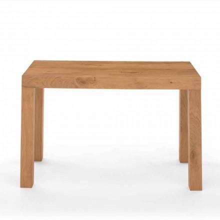Udvideligt konsolebord i træ med træ fremstillet i Italien - Gordito