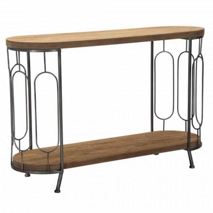Konsolbord i moderne stil i jern og MDF - Trisha