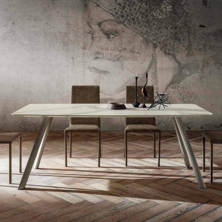 Højkvalitets køkkenbord med Made in Italy Laminam Top - Lingotto