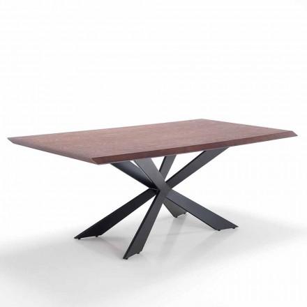 Spisebord i moderne design i Mdf og metal - Hoara