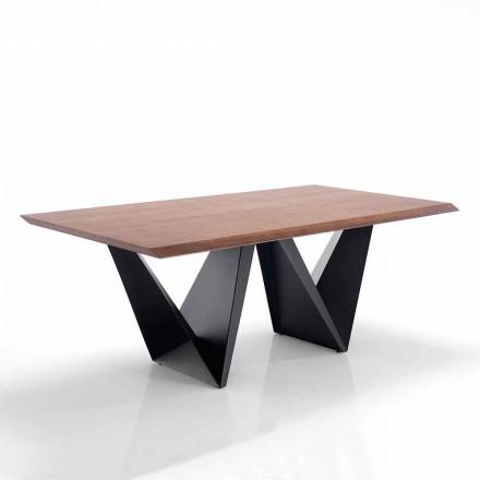 Spisebord i moderne design i Mdf og metal - Helene