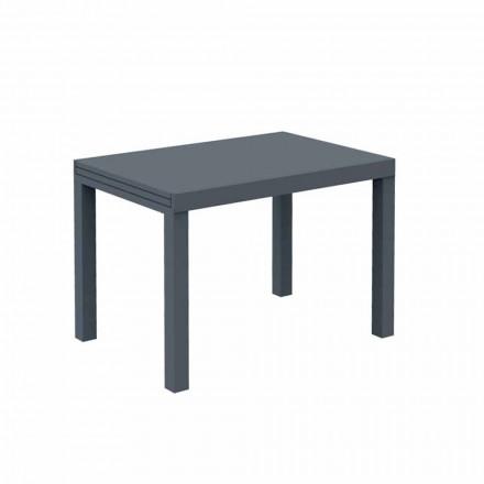 Udvideligt udendørs bord Op til 280 cm i metal Fremstillet i Italien - Dego