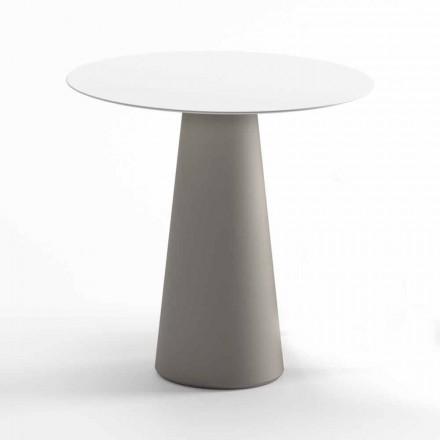 Moderne udendørs bord i HPL og uigennemsigtig polyethylen fremstillet i Italien - Forlina