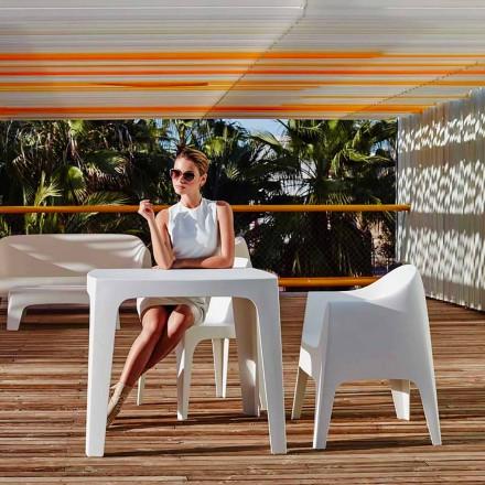 Udendørs kvadratbord Fast af Vondom i polypropylen, moderne design