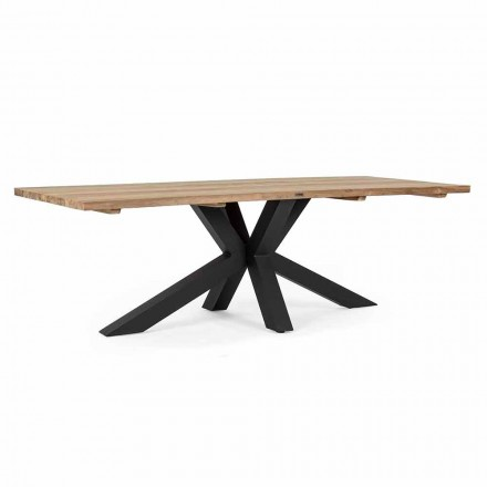 Havebord med top i teaktræ af Homemotion - Cowen Design