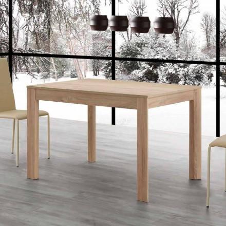 Fiumicino udtrækkeligt spisebord 130x80 åbent 190 cm, design