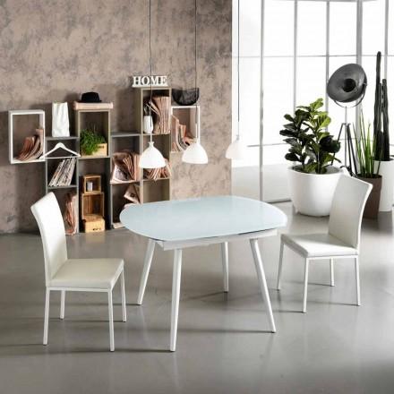 Spisebord med glasplade New Japan