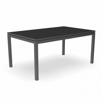 Udvideligt have spisebord 280 cm i aluminium - Adam af Talenti