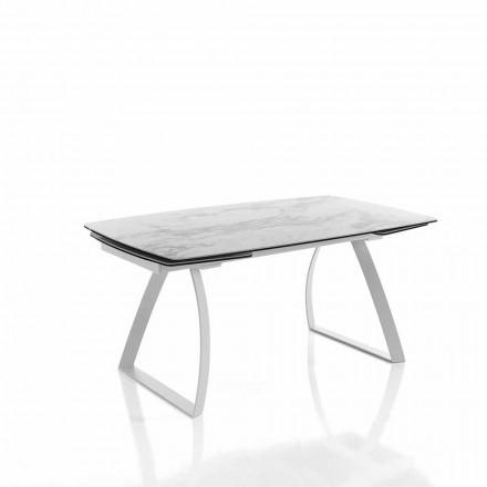 Design udvideligt spisebord i glaskeramik - Willer