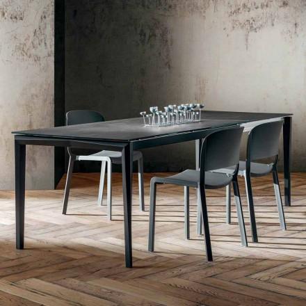 Udtrækkeligt spisebord Op til 240 cm i laminam fremstillet i Italien - fantastisk