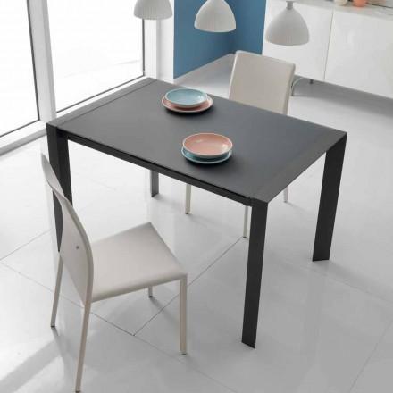 spisebord glas bord og metal Oddo