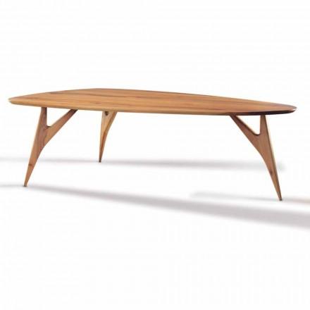 Spisebord, håndlavet, i massivt valnøddetræ fremstillet i Italien - Nocino