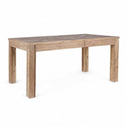 Homemotion Spisebord med top og ben i Elm Wood - Elm