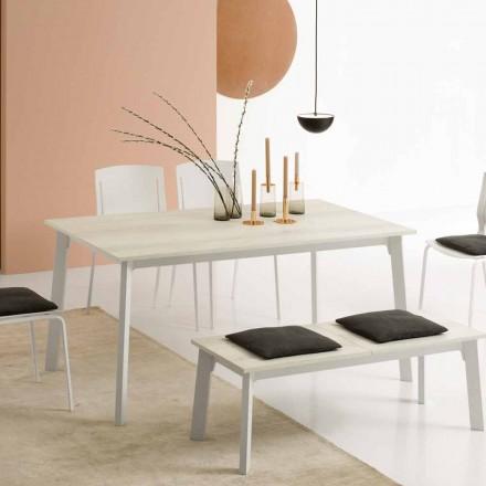 Udvideligt spisebord med 6/8 sæder - Arnara Basic