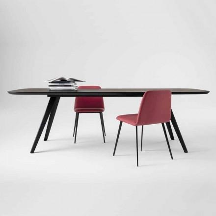 Kvalitets spisebord med ask af træ lavet i Italien - Ulma