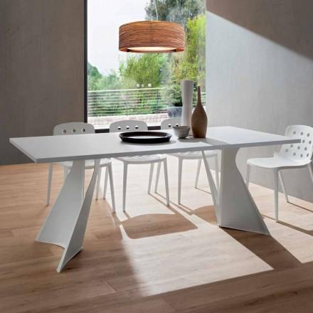 Spisebord i Fenix og malet metal fremstillet i Italien - Dotto