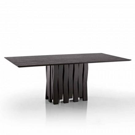 Design spisebord i MDF træ lavet i Italien, Egisto