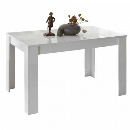 Spisebord i melamin kan forlænges op til 185 cm Fremstillet i Italien - Aneta
