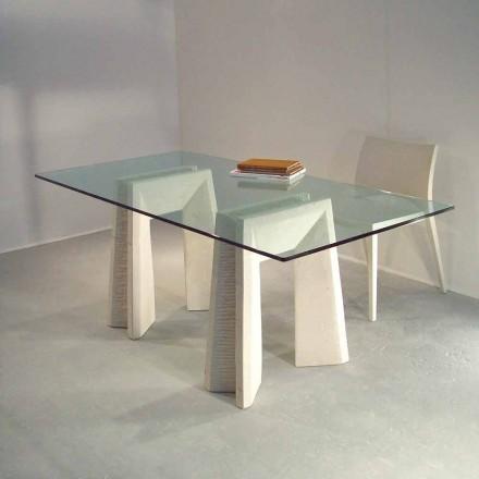 sten spisebord og moderne design krystal Arianna