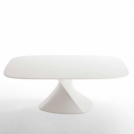 moderne hvide spisebord i MDF eg færdig 100x200cm Clark