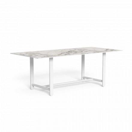 Udendørs spisebord med Gres Top, høj kvalitet - Riviera af Talenti
