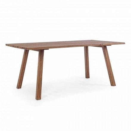 Udendørs spisebord i Acacia Wood Oil Finish - Leonard