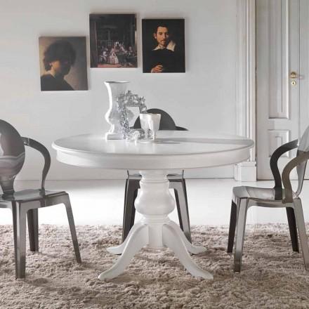 Klassisk runde spisebord i massivt træ Oliva