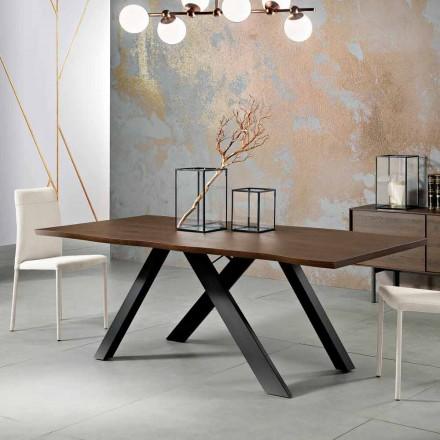 Design massivt træbord lavet i Italien, Wilmer