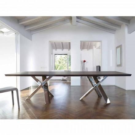 Moderne design træbord 270x120cm lavet i Italien Tree