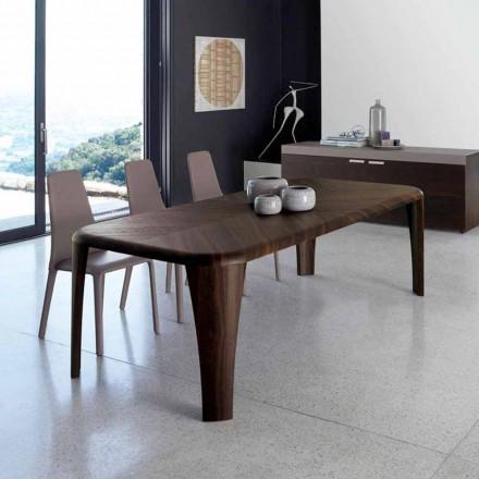 Moderne design træbord håndlavet i Italien Wood
